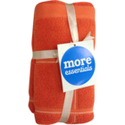 More Essential 100% Cotton Hand Towel 500 Orange 40 x 60 cm Pack of 2 Nos 1 pc