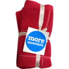 More Essential 100% Cotton Hand Towel 500 Red 40 x 60 cm Pack of 2 Nos 1 pc