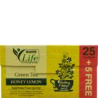 More Life Green Tea Bag Honey Lemon 25 + 5 Nos 1 pc