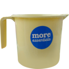 More Quality 1st More Essentials Beige Bath Mug 1 l