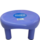 More Quality 1st More Essentials Blue Bath Stool Big 1 pc