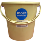 More Quality 1st More Essentials Bucket Beige 16 l