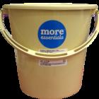 More Quality 1st More Essentials Bucket Beige 20 l