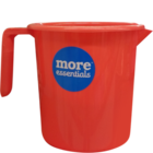More Quality 1st More Essentials Red Bath Mug 1 l