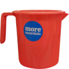 More Quality 1st More Essentials Red Bath Mug 1.5 l