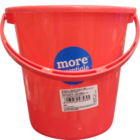 More Quality 1st More Essentials Red Bucket 7 l