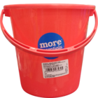 More Quality 1st More Essentials Red Bucket 3 l