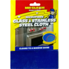 Mr.Gleam Micro Fibre Glass & Stainless Steel Cloth 1 pc