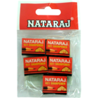 Nataraj 621 Sharpener Pouch Pack of 5 Nos 1 pc