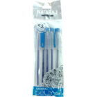 Nataraj Gelix Gel Blue Pen Pack of 5 1 pc