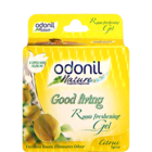 Odonil Nature Good Living Room Freshening Gel Citrus Spice 75 g