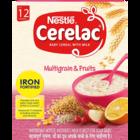 Nestle Cerelac Multi Grain 5 Fruit 4 Stage Infant Cerel 300 g