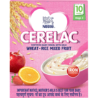 Nestle Cerelac Wheat Rice Mixed Fruit Stage 3 300g