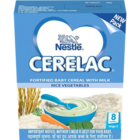 Nestle Fortified Baby Cereal With Milk Rice Vegetable Stage 2 300 g