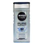 Nivea Pure Impact Shower Gel For Men 250 ml