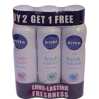 Nivea Women Deo Buy 2 Get 1 Free 450 ml