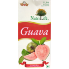 NutriLife Guava Fruit Nectar Juice Tetra Pack 1 l