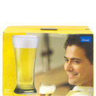 Ocean Beer Pilsner Glass Set of 6 Nos 400 ml