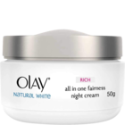 Olay Natural White Rich All In One Fairness Night 50 g