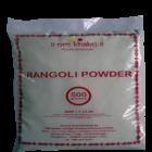 Om Bhakti Rangoli Powder White 500 g