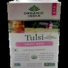 Organic India Sweet Rose Tea Bags 18 Nos
