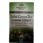 Organic India Tulsi Lemon Ginger Tea Bags 18 Nos