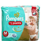Pampers Active Baby Medium 7-12 Kg 20 Pant Diapers 20 pcs