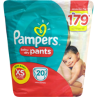 Pampers Baby Pants XS Diapers 20 Nos 1 pc