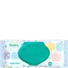 Pampers Baby Wipes Fresh Clean 64 pcs