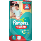 Pampers Pant Dipers XL Extra Large 12+ Kg 44 pcs