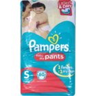 Pampers Small Pants 4-8 Kg Pants Diapers 60 pcs