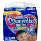 Mamy Poko Pant Style Diapers Large 9-14 kg Diapers 64 Nos