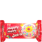 Parle Happy Happy Jam In Cream Biscuit 75 g