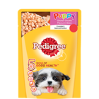 Pedigree Gravy Puppy Dog Food Chicken & Rice Pouch 80 g