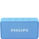 Philips BT64 Atom Portable Bluetooth Speakers Blue 1 pc