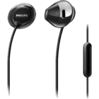 Philips SHE 4205 Black Earphone with Mic 1 pc
