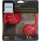 Philips SHL3060Rd Headphones Red 1 pc