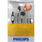 Philips SHM3100 Earbud Headphone with Mic 1 pc