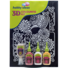 Pidilite 3 D Colouring Kit 4 Out Iner 1 pc