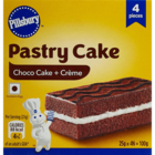 Pillsbury Pastry Cake Chocolate Pack of 4 Nos 1 pc