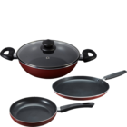 Prestige Omega Deluxe Induction Base Non Stick Kitchen Set Of 3 Nos 1 pc