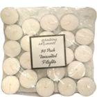 Primacy T Light Candle Unscented Pack Of  50 Nos 1 pc