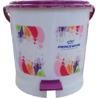 Princeware Garbage Bucket Round Mini Printed 1 Pc