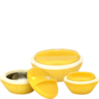 Princeware Pluto Pack Of 3 Casserole Set 1 pc