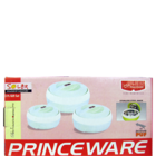 Princeware Solar Casserole 3100 ml Pack Of 3 Nos 1 Pc