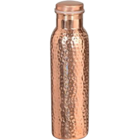 Ratna Copper Water Bottle Hammered 1 1 pc