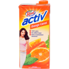 Real Real Active Orange Carrot Tetra Pack 1 l
