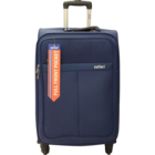 Safari Signature 4 Wheel Blue Soft Luggage Strolley 65 cm 1 pc