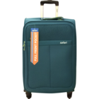 Safari Signature 4 Wheel Teal Soft Luggage Strolley 55 cm 1 pc