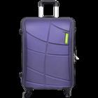Safari Vivid Plus 4 Wheel 77 cm New Purple Strolley 1 pc